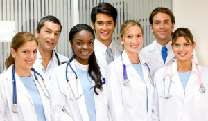 Group of Young Doctors